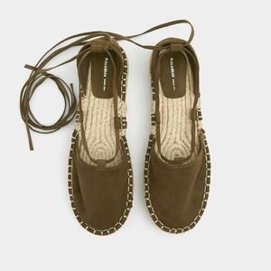 Pull&Bear lace up  espadrilles